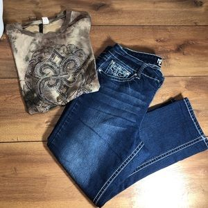 New Direction Weekend skinny jeans